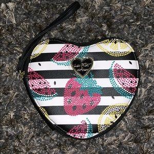 Betsey Johnson coin purse